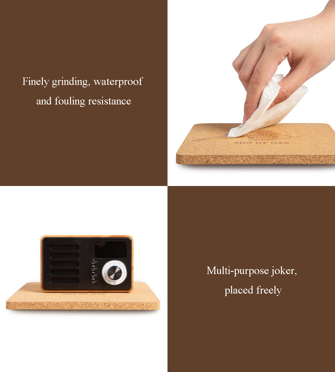 Soft Wooden Cooling Pad Tool Set For Pot Dish Hot Tea from Xiaomi Youpin