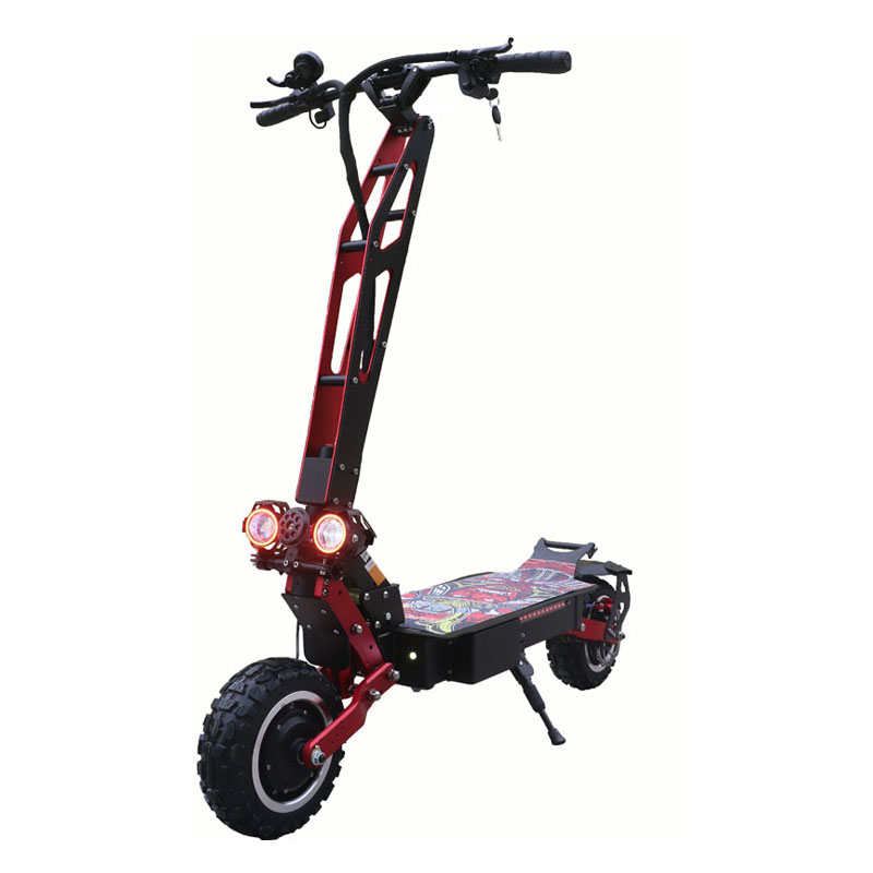 ZAPCOOL T109 Double Motor 26Ah 60V 3600W Folding Electric Scooter 11 Inch Top Speed 80km/h 70-90KM Mileage Without Seat EU Plug