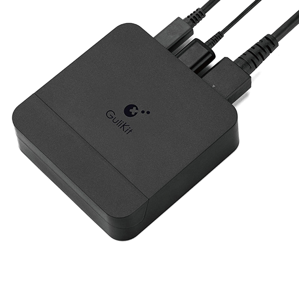 Gulikit 1080P 4K HD Converter Adapter USB-C to USB-A Docking Station for Nintendo Switch Game Console