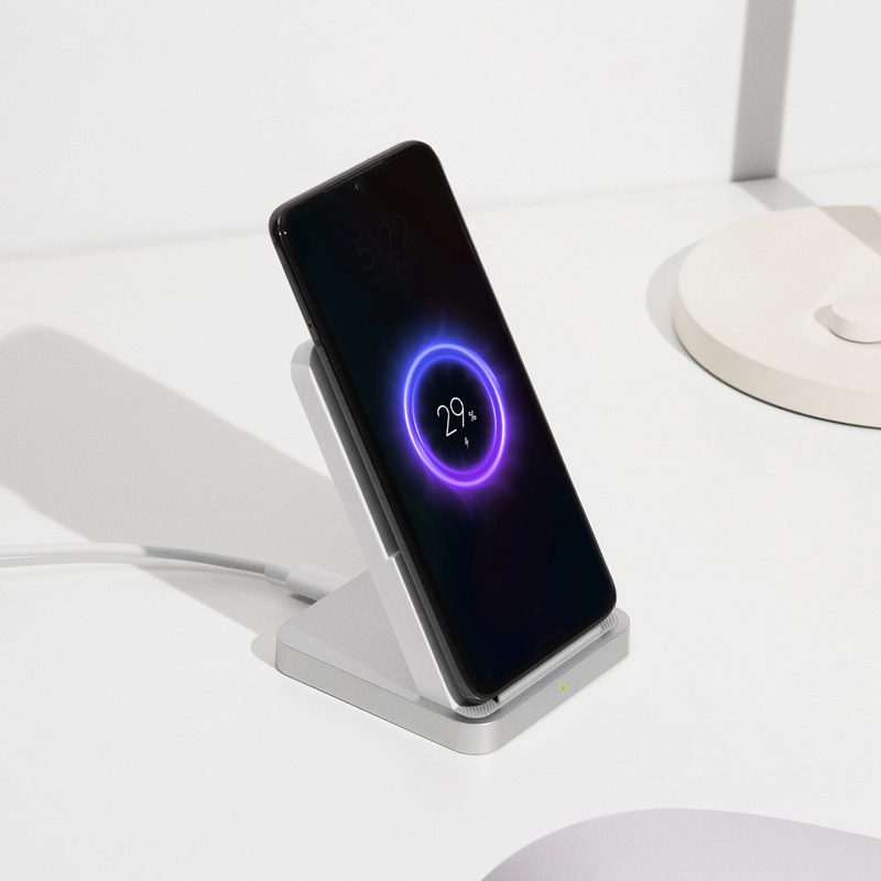Original Xiaomi Mi Wireless Charger 30W Vertical Air-cooled Holder Charger for Xiaomi 9 Pro for iPhone 11 Pro XR X