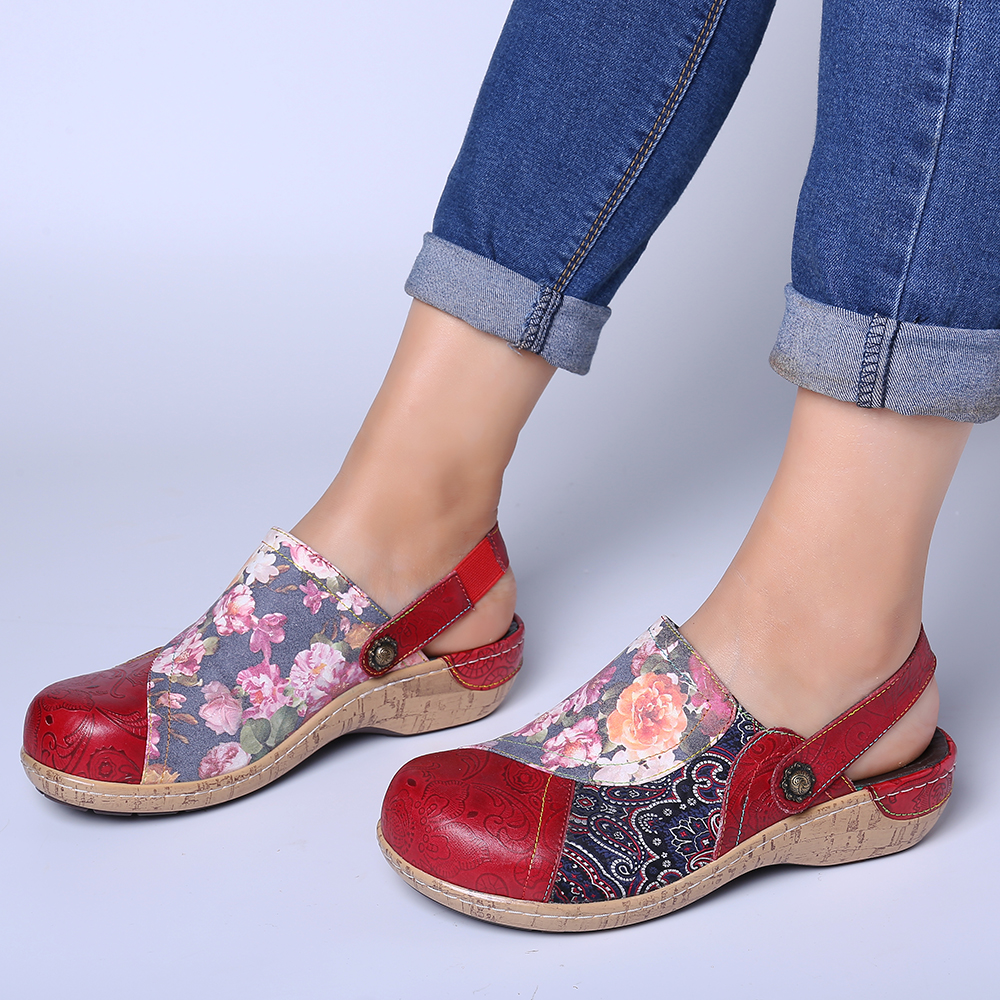 Comfy Retro Stitching Shoes