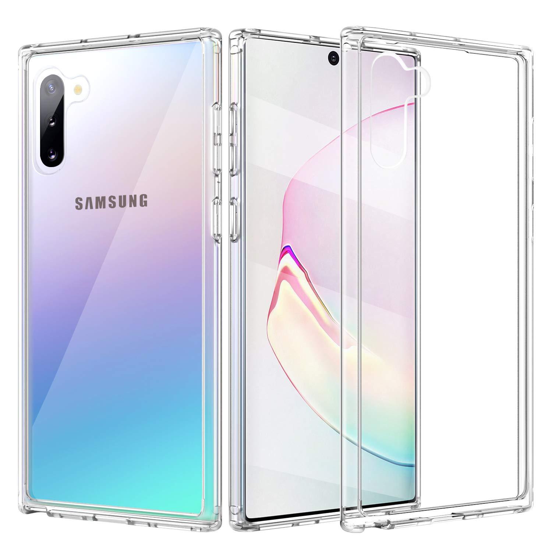 Bakeey Clear Прозрачный Противоударный ПК ТПУ Защитный Чехол Для Samsung Galaxy Note 10 Plus / Note 10+ 5G
