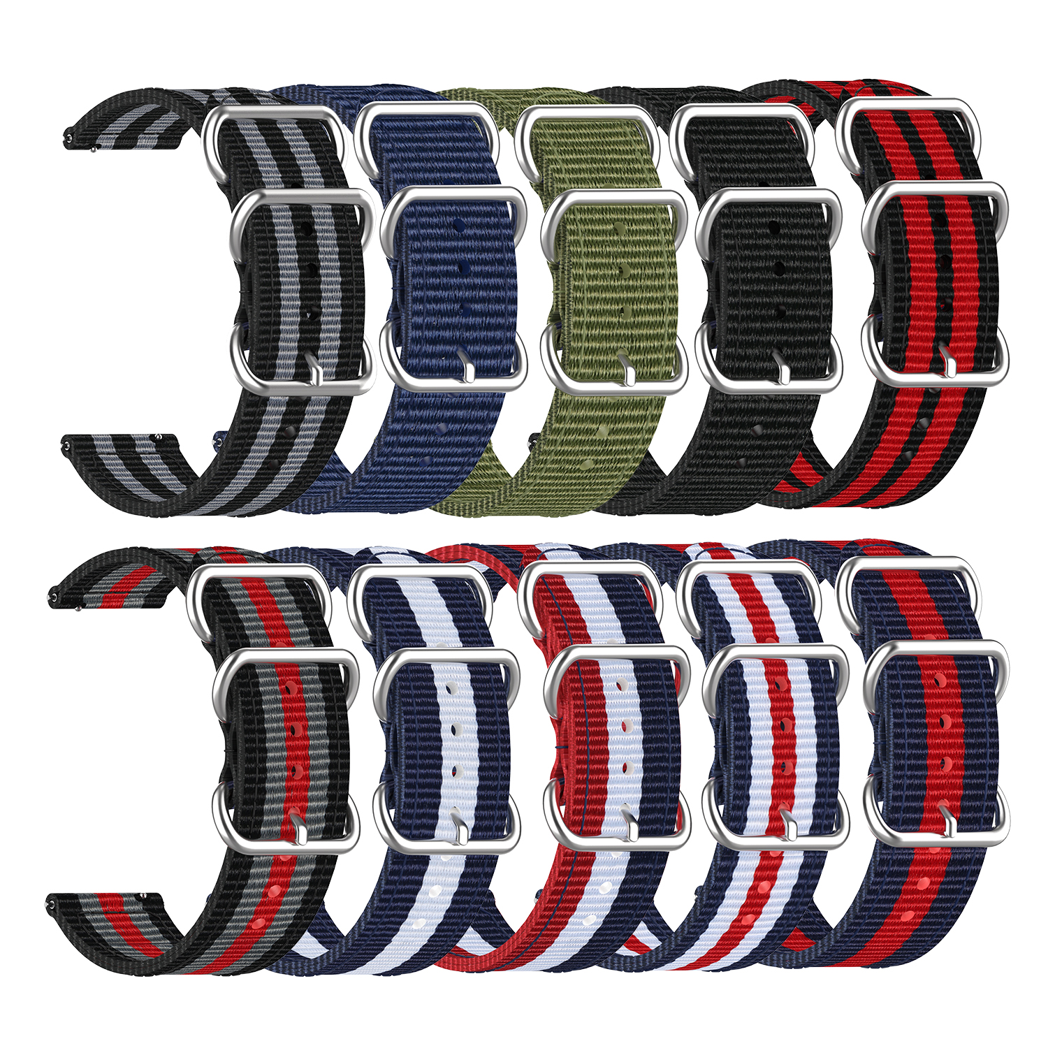 Bakeey 20MM Nylon Watch Band For Huawei WATCH GT 2 42MM/Honor WATCH 2 42MM