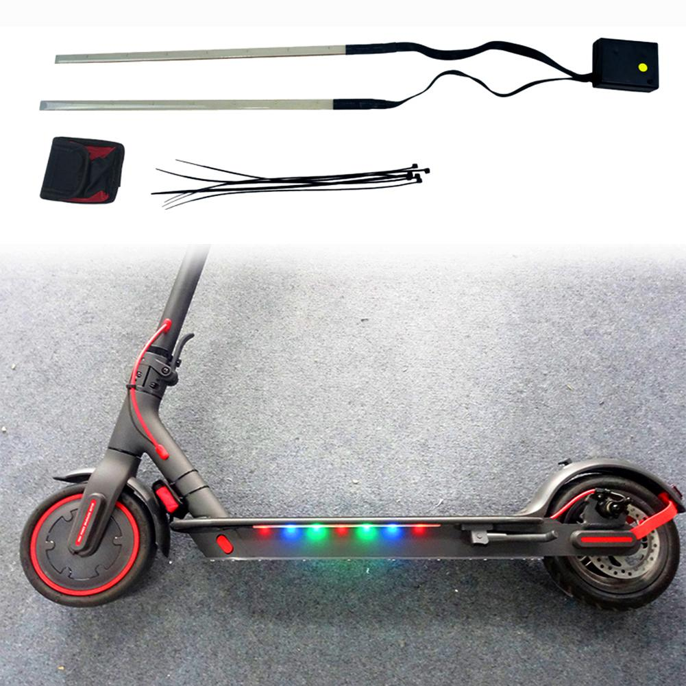BIKIGHT Colorful Strip Light For Xiaomi M365 / Pro Electric Scooter 3 Modes Scooter Chassis Light Night LED Strip Light
