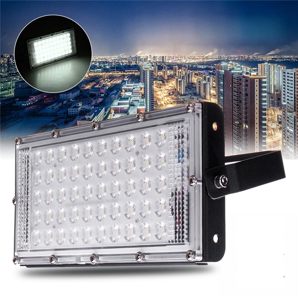 50W LED Flood Light Waterproof Outdoor Garden Landscape Football Field Lamp AC220V