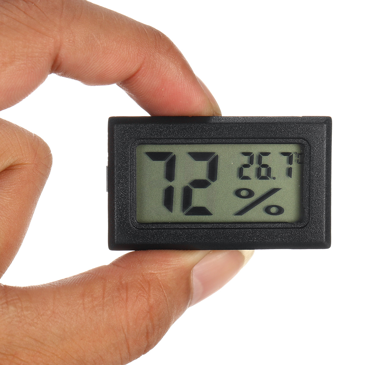 DC1.5V Mini Portable LCD Digital Thermometer Hygrometer