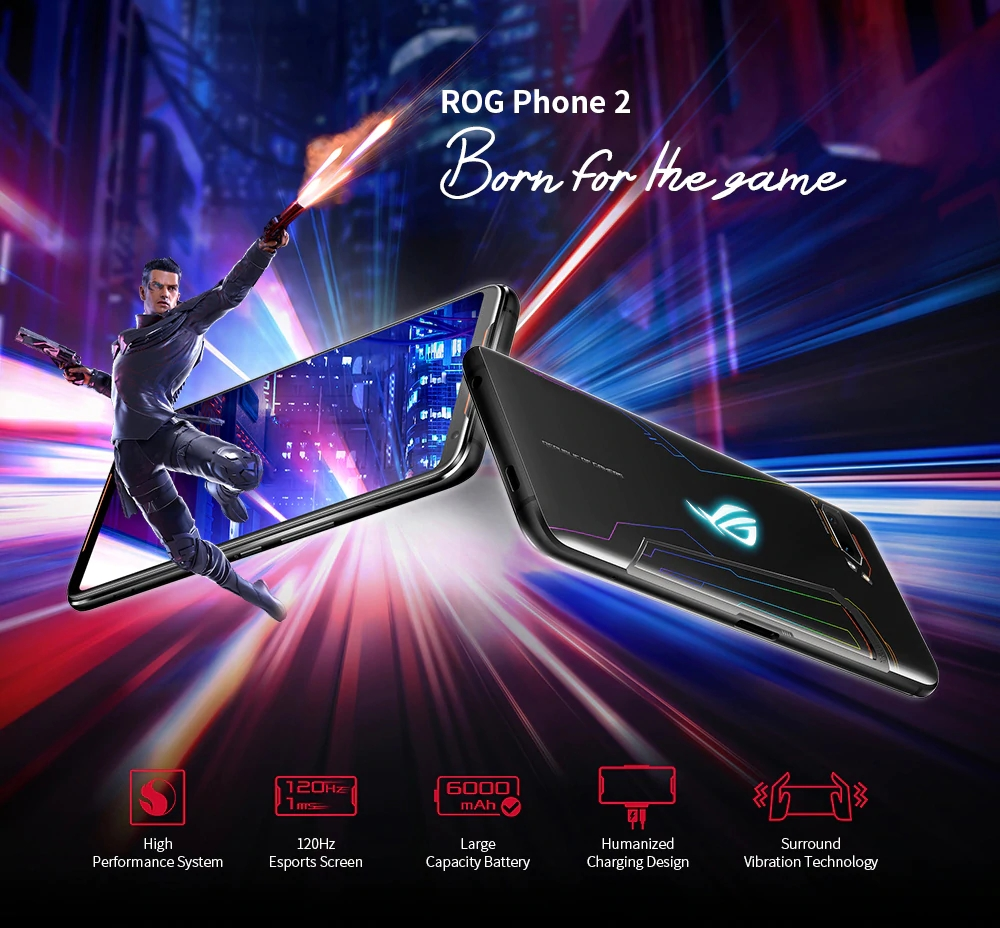 asus rog phone 2 born for the game