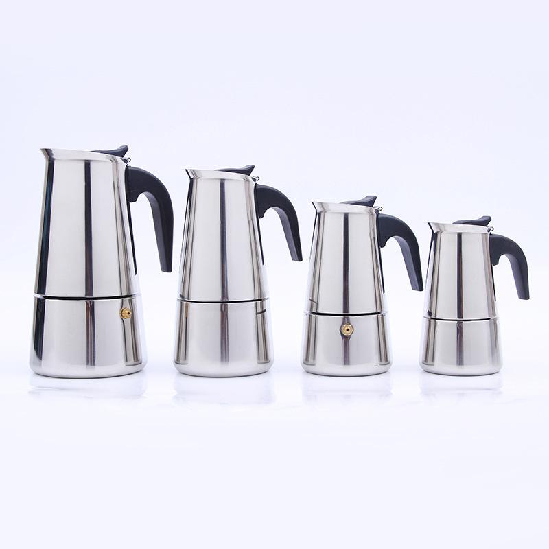 Кофейник из нержавеющей стали Mocha Espresso Percolator Кофейная чашка из нержавеющей стали