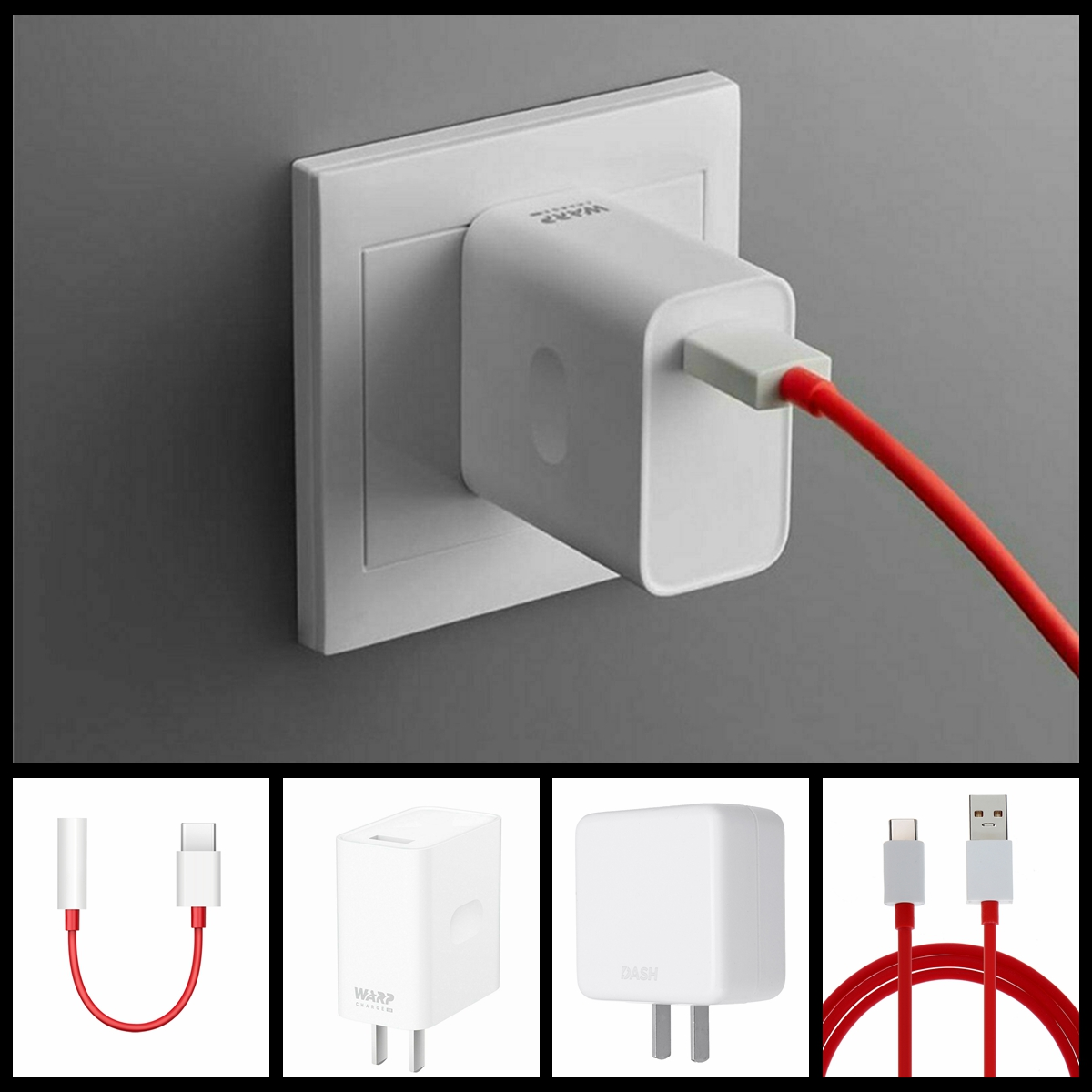 OnePlus 7/7t pro Warp Charger 30W Power Adapter Charge Type-C Fl