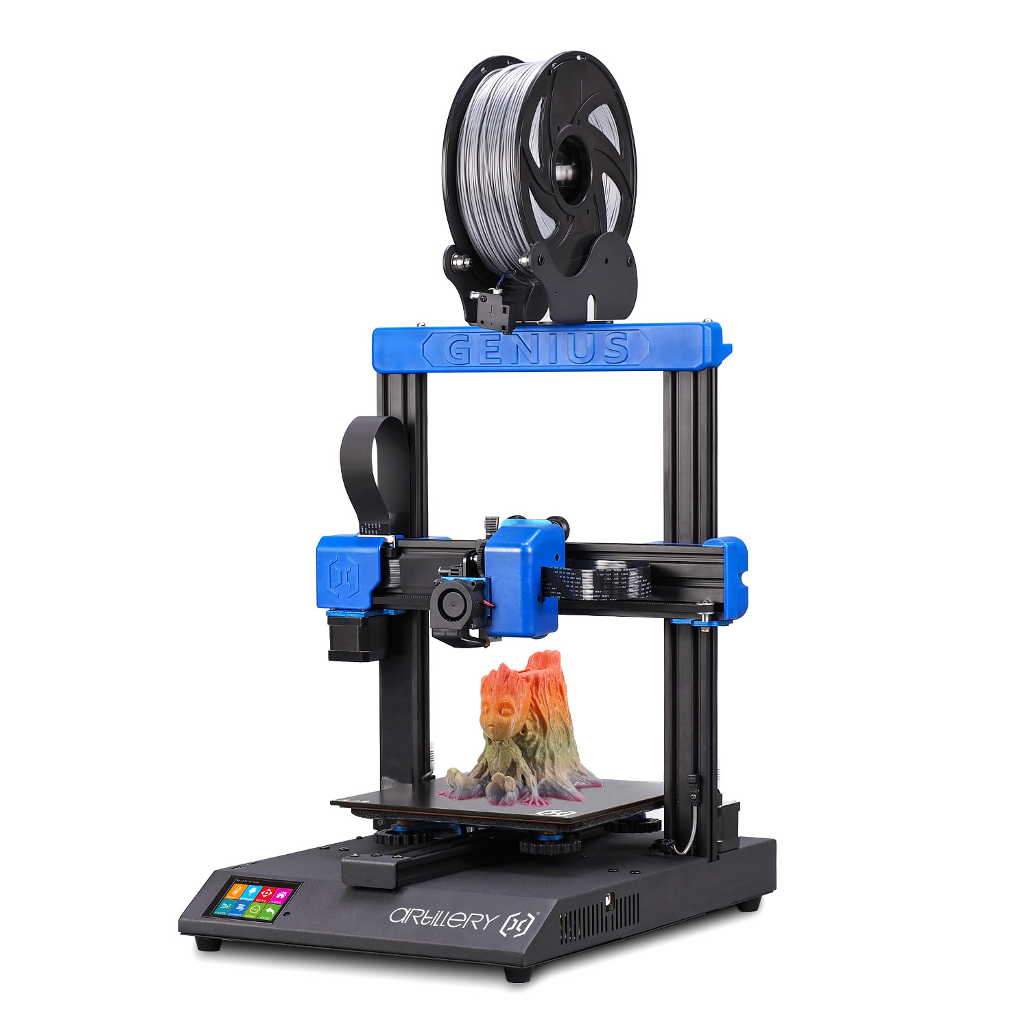 Artillery® Genius DIY 3D Printer Kit 220*220*250mm Print Size with Ultra-Quiet Stepper Motor TFT Touch Screen Support Filament Runout Detection&Power