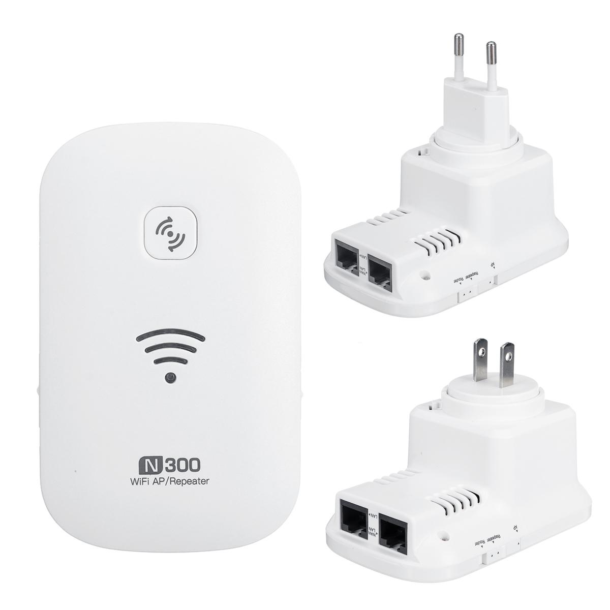 Повторитель Wi-Fi 300 Мбит / с 802.11N Повторитель Wi-Fi Маршрутизатор расширителя Wi-Fi Маршрутизация AP Повторитель Режимы работы