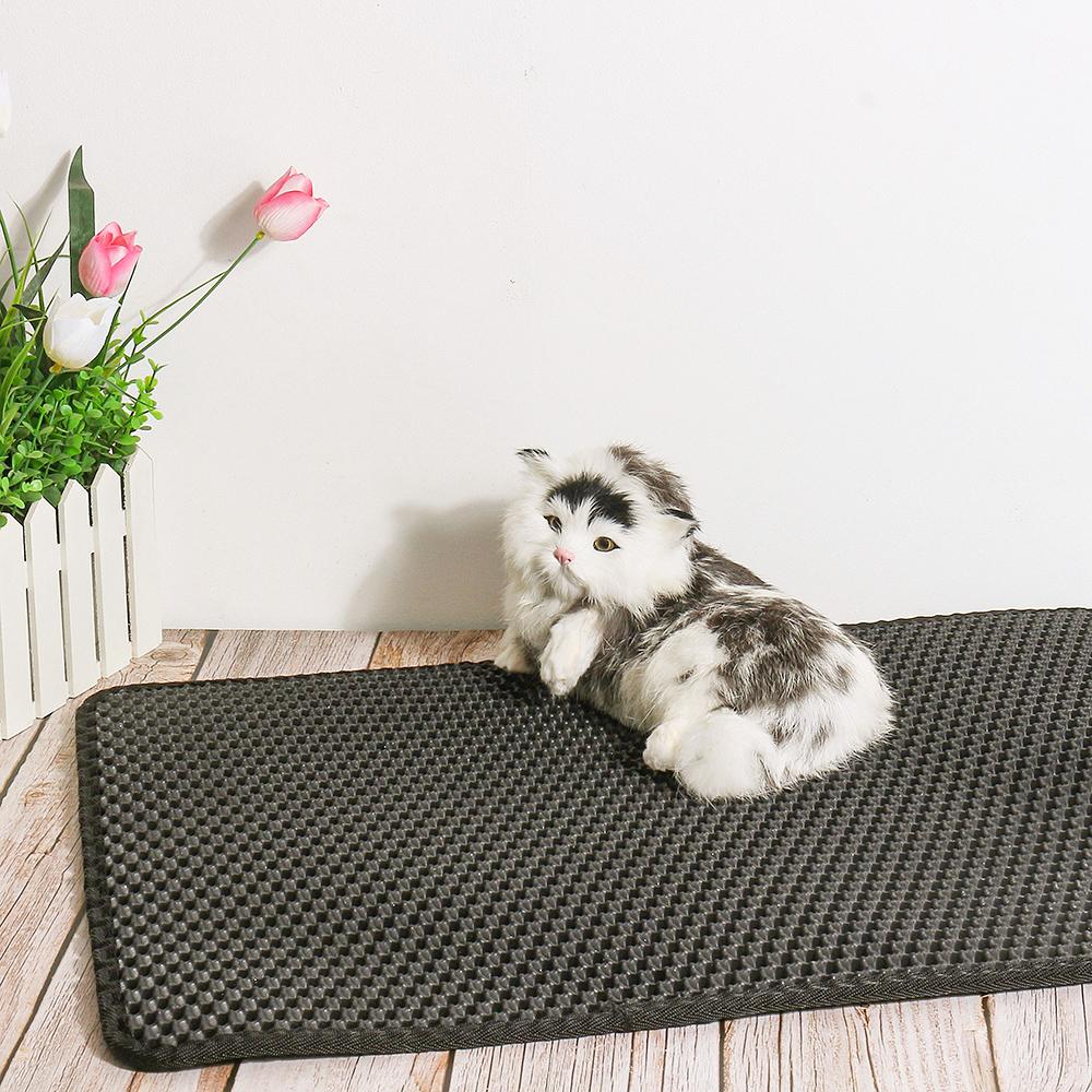 Двухслойный Кот мусор Коробка коврик Trapper EVA Pad Pet коврик из поролона Pet