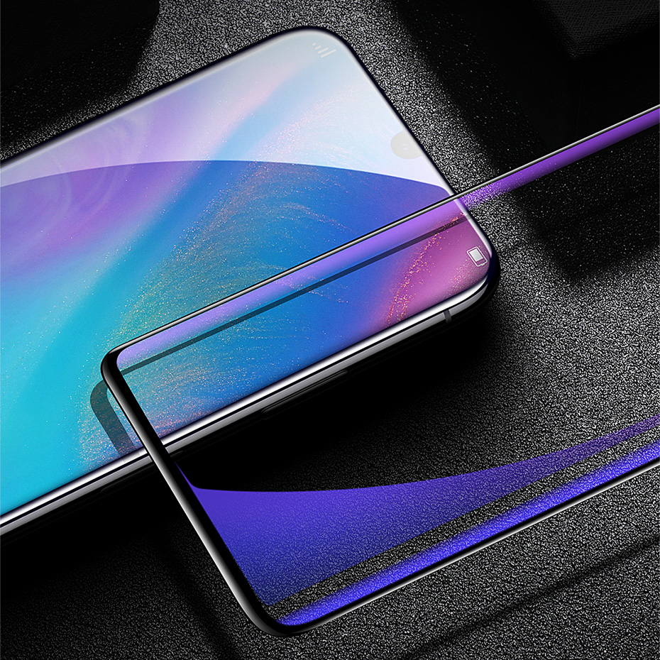 Baseus 2pcs 0.15mm Anti-blue light Anti-explosion HD Full-cover Curved Soft Screen Protector For Huawei P30 Pro