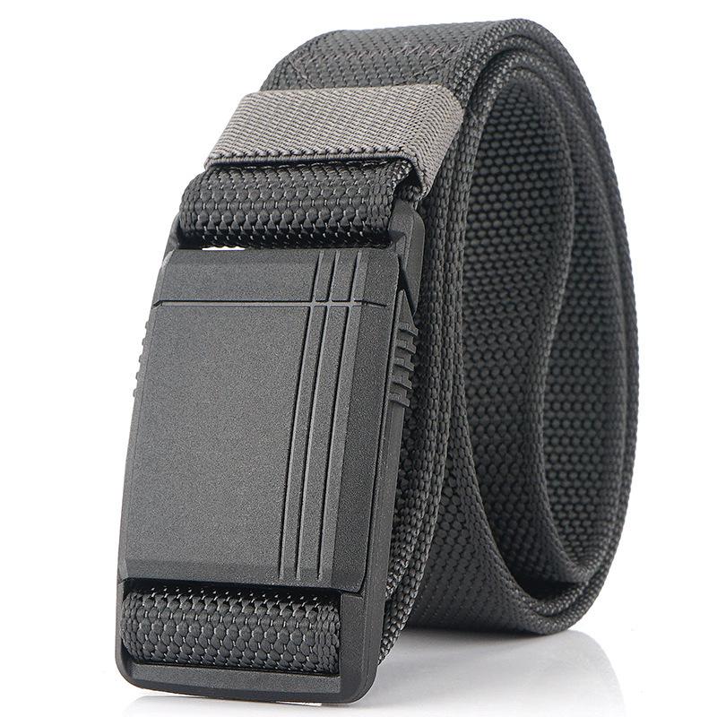 AWMN 125cm Mens Nylon Belt Magnetic Quick Buckle Tactical Belt