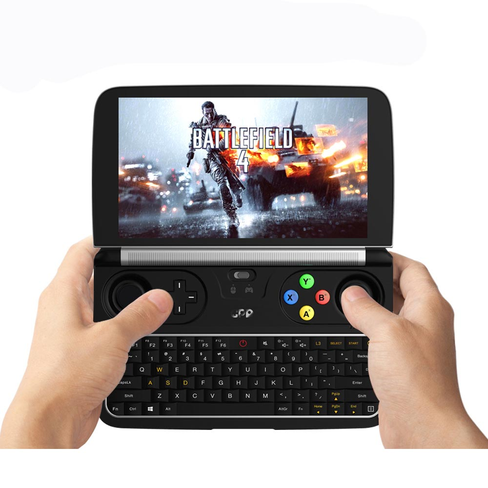 GPD WIN 2 M3-8100Y Handheld PC Game Console Windows Tablet - BLACK