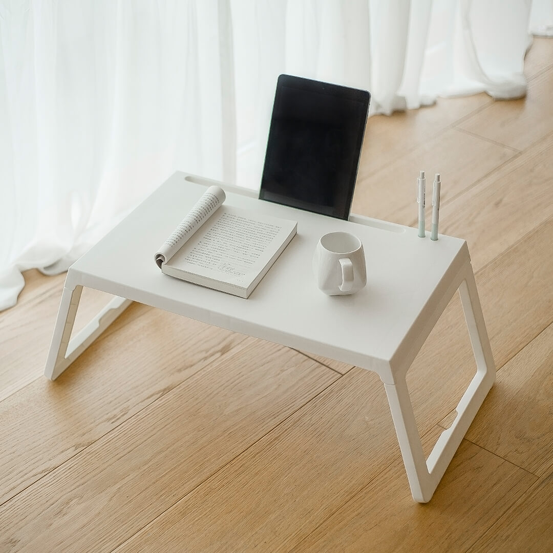 Picture of: Xiaomi Youpin Foldable Study Desk Adjustable Sofa Bed Tray Table Laptop Desk With Folding Legs For Home Office Buy At The Price Of 29 99 In Banggood Com Imall Com