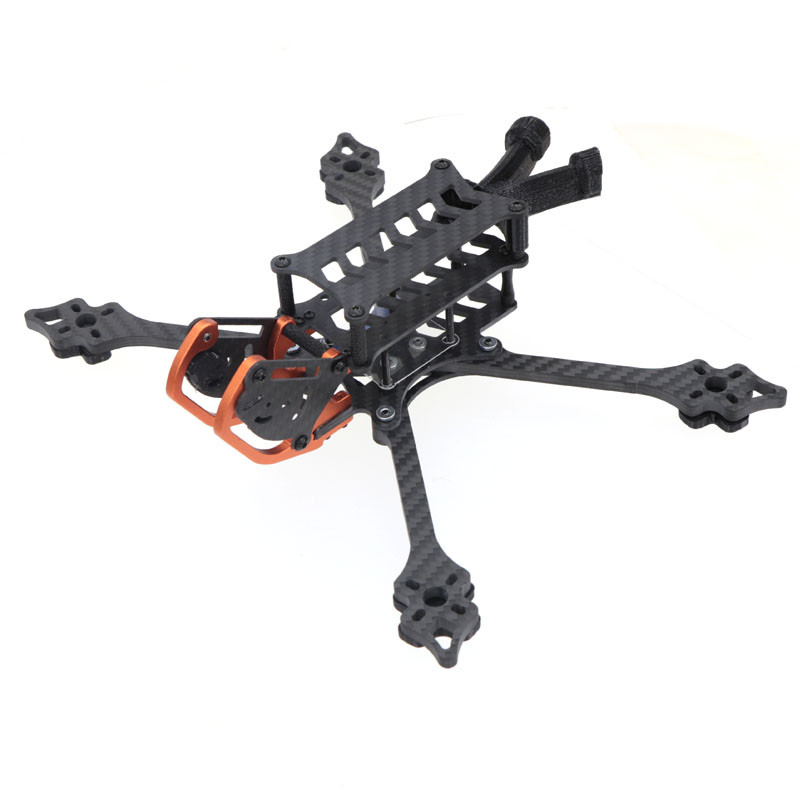 HSKRC HX230mm 5inch / HX267mm 6inch / HX304mm HX342mm FPV Full Carbon Fiber Frame Kit Quadcopter 5 6 7 8 inch for DJI Air Unit FPV Racing Drone