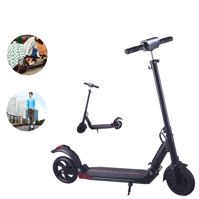 HubaoK2350Вт36В 5Ah Складной электрический скутер 35 км / ч Макс. Скорость 8 дюймов Шина IP55 Водонепроницаемы 20 км Пробег Электрическ