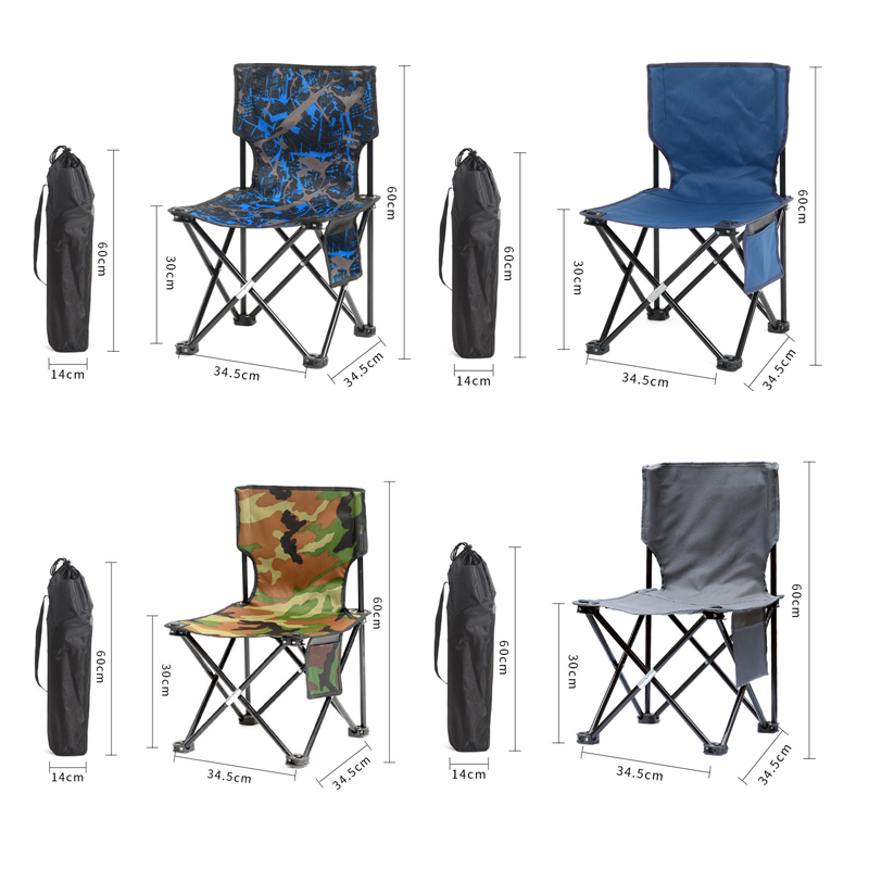 DROW Outdoor Portable Folding Chair Camping Traveling Picnic BBQ Chairs Table Set