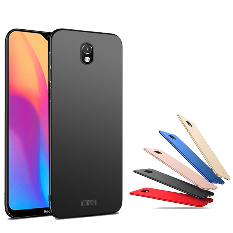 For Xiaomi Redmi 8A Case Mofi Frosted Ultra-Thin Anti-fingerprint Hard PC Protective Case