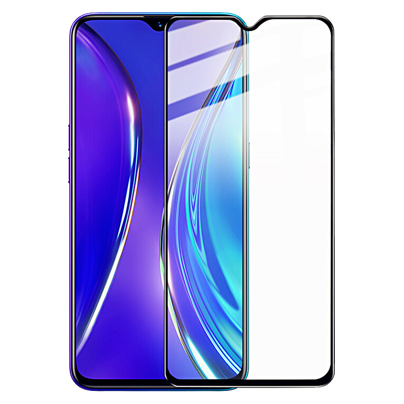 BAKEEY Anti-Explosion Full Cover Full Gule Tempered Glass Screen Protector for OPPO Realme X2