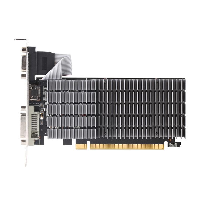 Видеокарта MAXSUN MS-GT710 PLUS для начинающих DDR3 HDMI DVI VGA