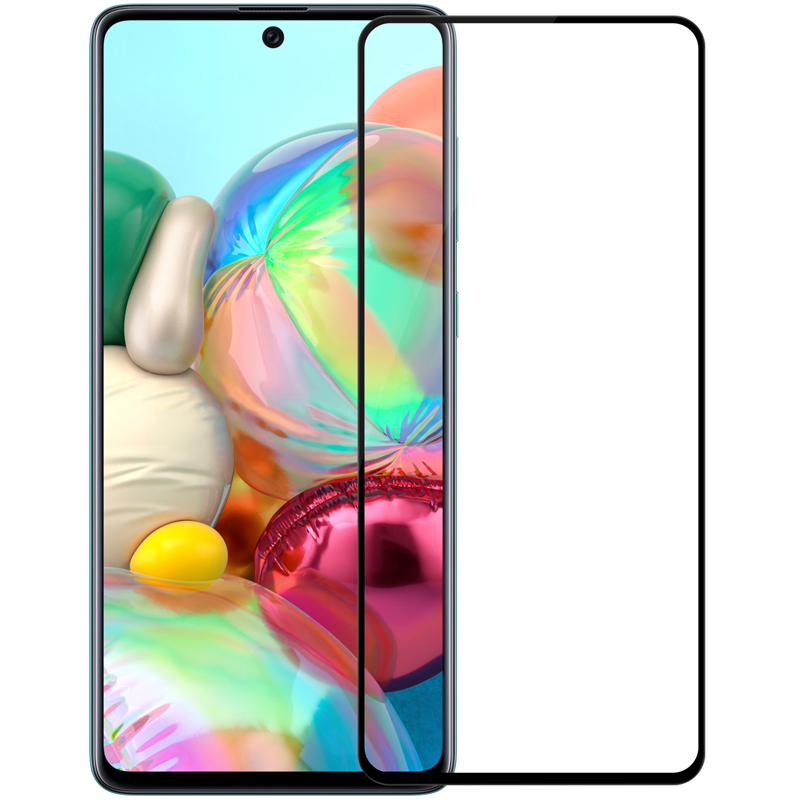 NILLKIN Amazing CP+PRO Anti-Explosion Full Glue Full Coverage Tempered Glass Screen Protector for Samsung Galaxy A71 2019