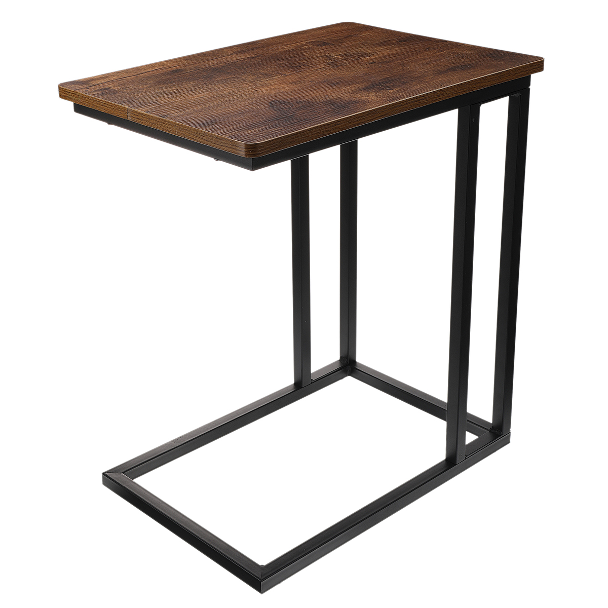 """VASAGLE Movable Side Table 19. 7""""L x 13. 8""""W x 24""""H Laptop Desk with Metal Frame ULNT50X"""