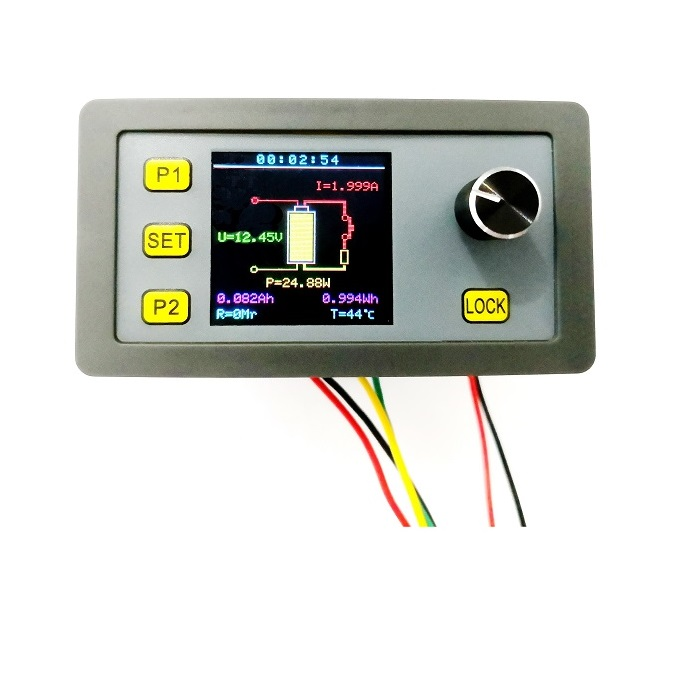Multi-function Adjustable Constant Current Electronic Load Color Screen LCD Display Multiple Protection Support RS485 Modbus Communication