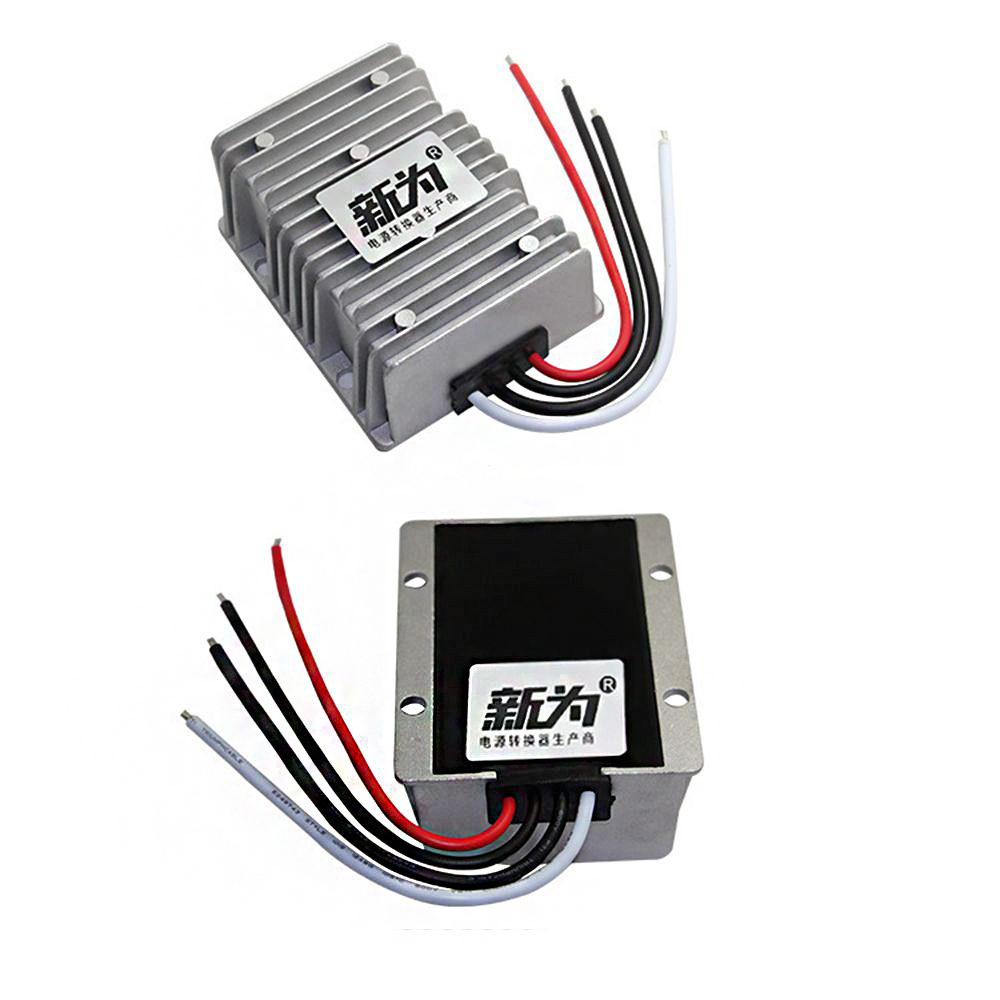 Waterproof 18-36V to 24V 15A Buck Regulator 24V 360W Automatic Step up and Step Down Power Supply Converter for Car Power