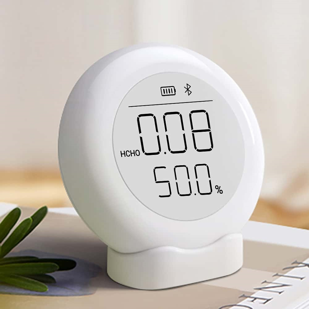 352 M30 Anti-interference Formaldehyde Detector Measuring Formaldehyde Indoor Formaldehyde Temperature Humidity White From Xiaomi Youpin