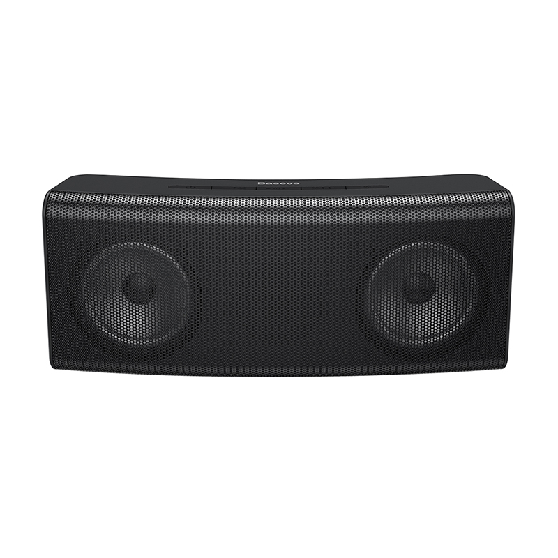 Baseus Encok E08 Wireless bluetooth Speaker HiFi Dual Drivers Bass Stereo LED Light TF Card AUX Soundbar with Mic