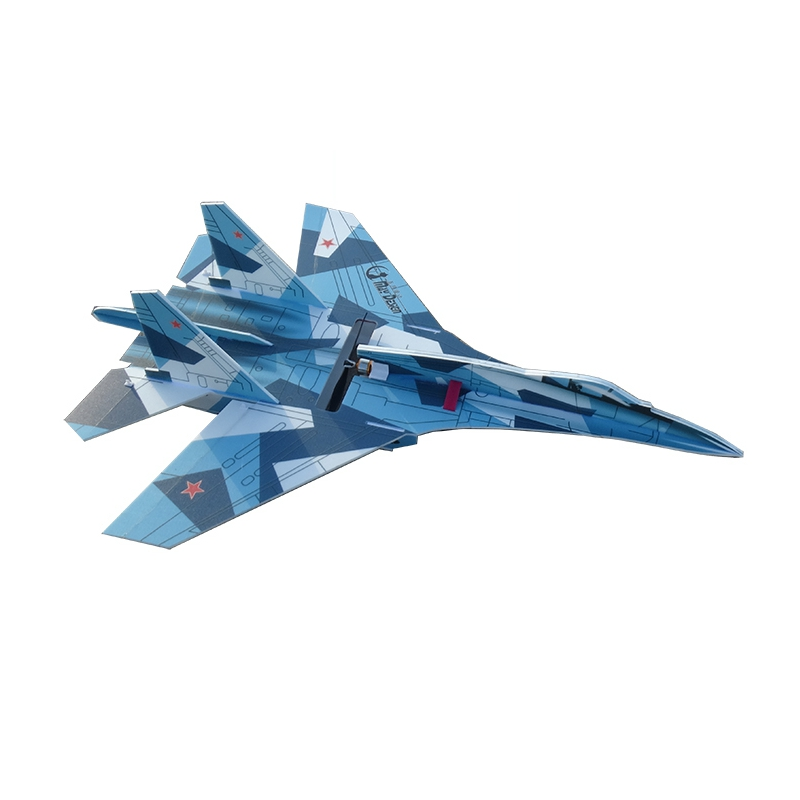 SU27 760mm Wingspan PP RC Airplane Scaled Aircraft Fixed Wing KIT