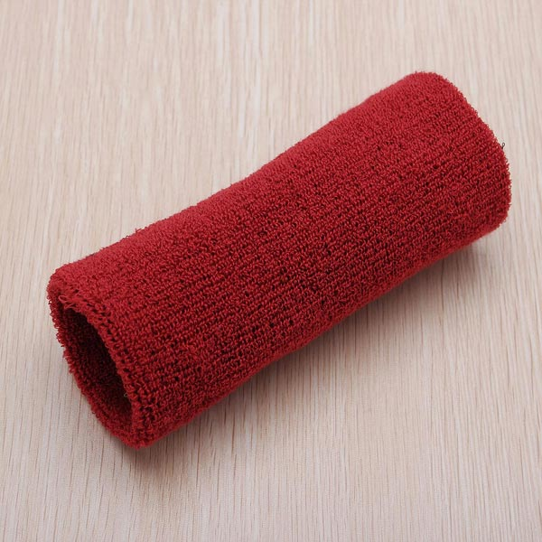 Sweatband Wristband Sports Wrist Wrap 6inch Badminton Yoga Tennis Band