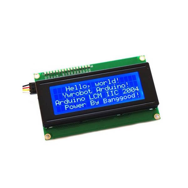 Geekcreit? IIC I2C 2004 204 20 x 4 Character LCD Display Screen Module Blue For