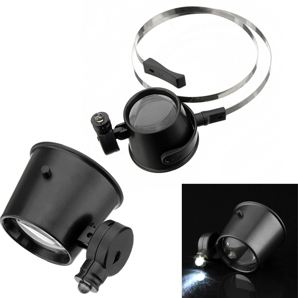Find Illuminated 15X Magnifier LED Eye Loupe Repair Watches for Sale on Gipsybee.com