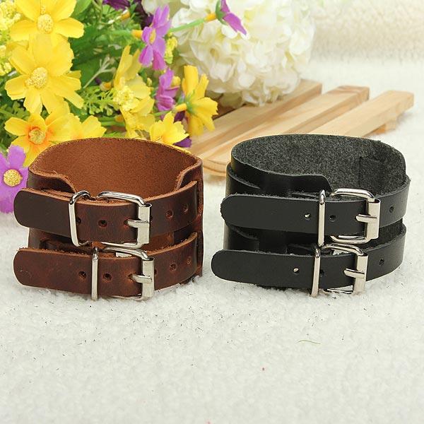 Men Leather Bracelet