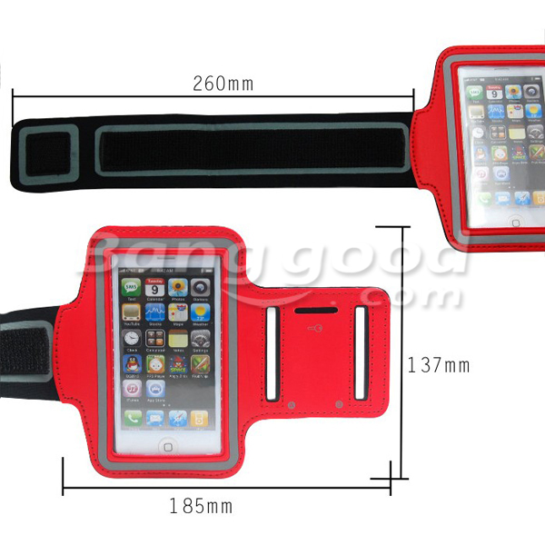 Fashion Water Resistant Design Armband Sport Case For iPhone 5