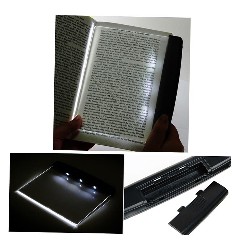 Ночь чтения LED книги свет лампы панели