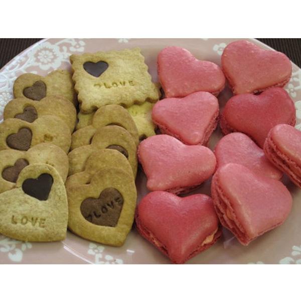 Heart Macaron Mold Mat