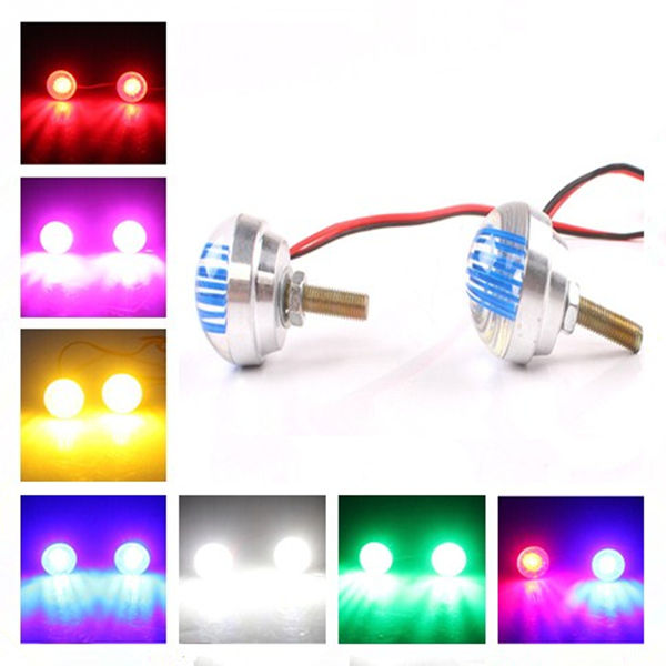 7 Color Motorcycle LED Driving Tail Decoration Li