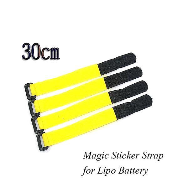 Нейлоновый волшебный ремень наклейки ремешок 2см * 30см для липо батареи