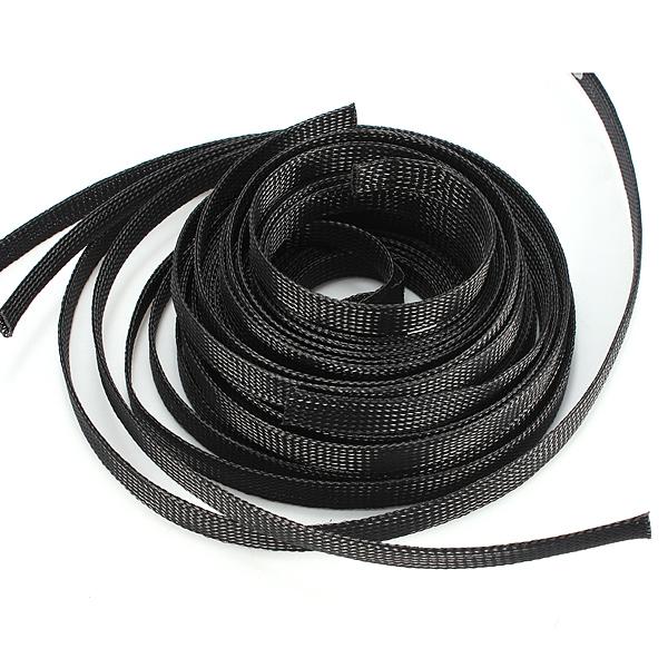 12мм плетеный расширяемая обшивка авто провода кабельный ввод муфты