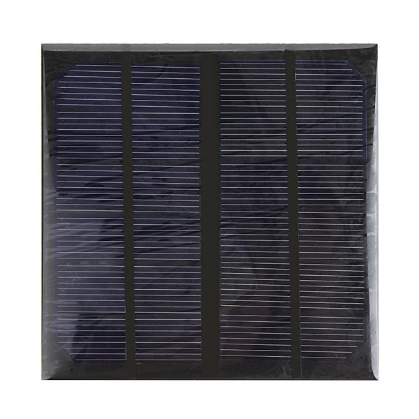 3W 6V 145*145*3mm 520MA Mini Epoxy Solar Panel