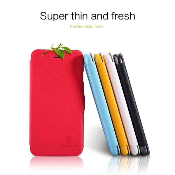 NILLKIN Fresh Series Flip Ultra Thin PU Leather Чехол для iPhone 6
