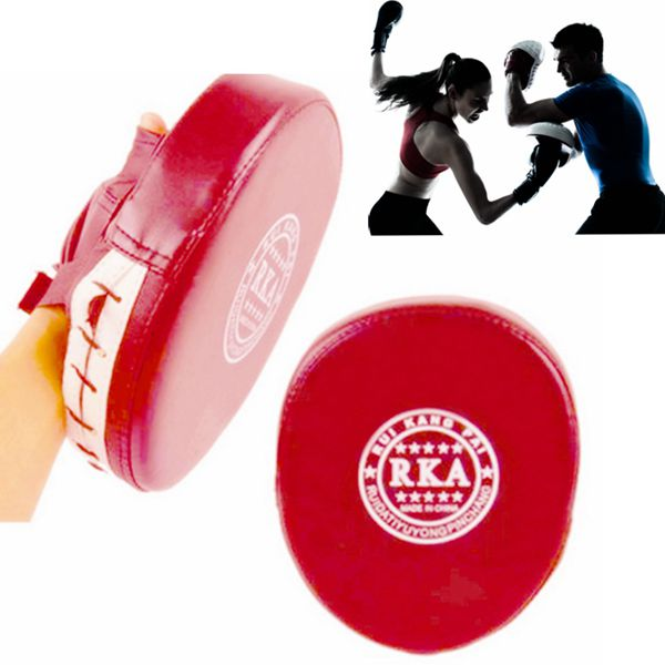 Boxing Training Mitt Target Focus Punch Pad Glove For MMA Karate Muay Thai Kick