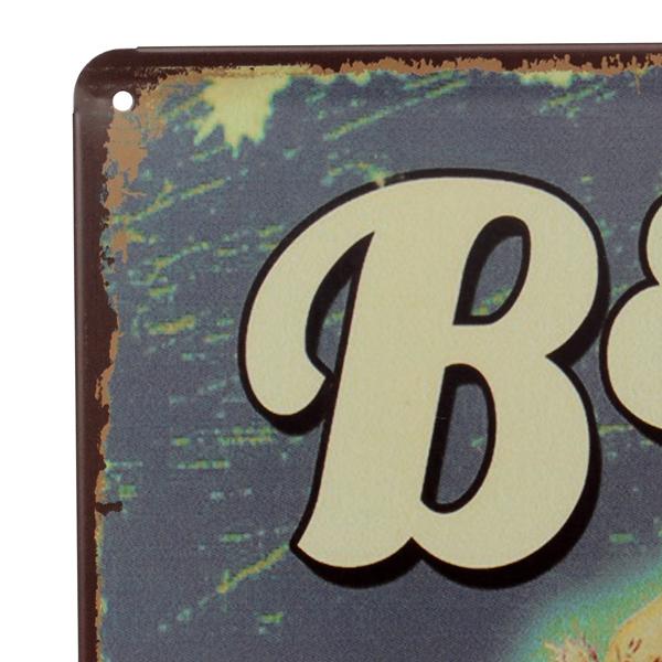 Beer Tin Sign Vintage Metal Plaque Poster Bar Pub Home Wall Decor
