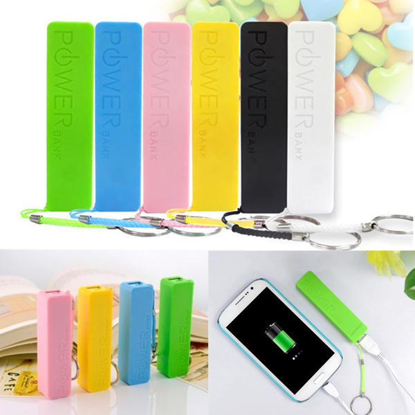 DIY 18650 Battery Charger Case Box USB Power Bank Box For iPhone Smartphone