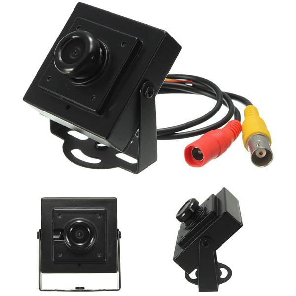 Mini HD 700TVL 1 / 3inch Board MTV Câmera de segurança CCTV de grande angular de 170 graus PAL