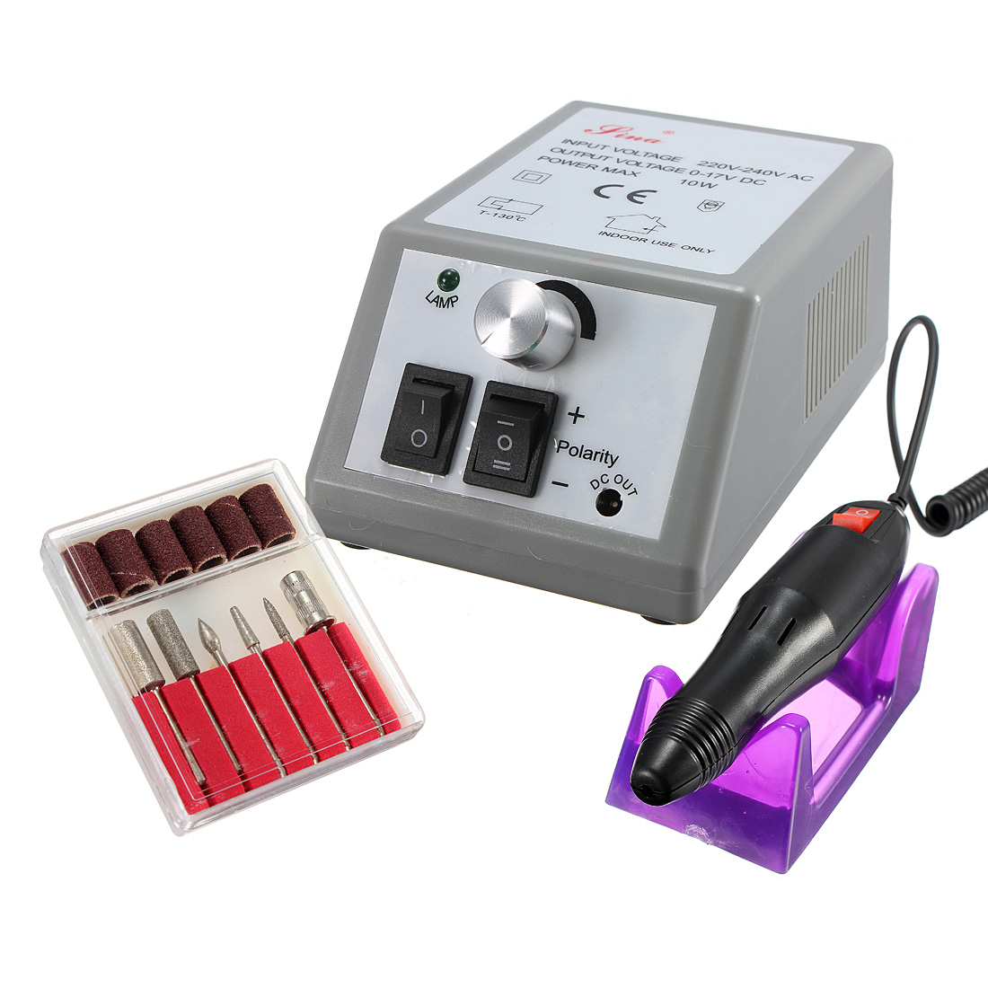 220-240В профессиональный маникюр педикюр электрическая дрель ногтей искусство набор